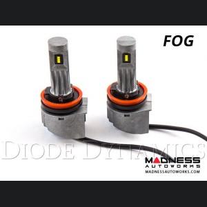 FIAT 500 LED Fog Light Kit - H11 - SLF - Yellow - Pair