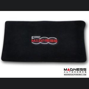FIAT 500 Cargo Area Cover  - Black Carpet w/ MADNESS Logo - No Bose/ Beats