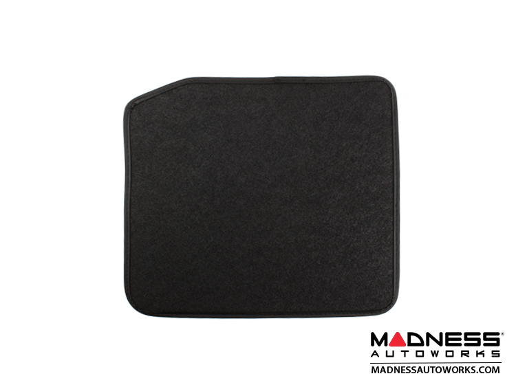 FIAT 500L Floor Mats (set of 4) - Black Carpet - FIAT 500 Parts and ...