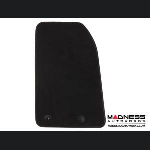 FIAT 500X Floor Mats - Premium Carpet - LUXUS - Front + Rear Set - Black