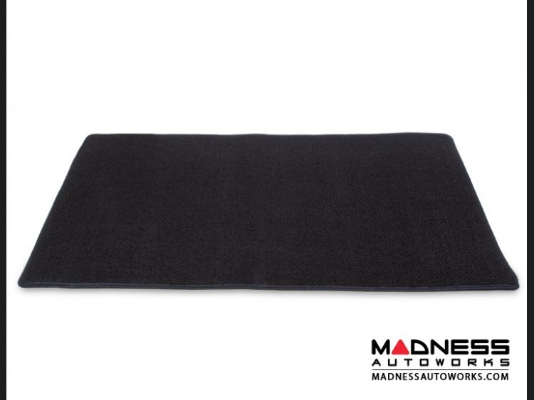 FIAT 500 Cargo Area Cover - Black Tight Loop/ Berber Carpet - No Bose/ Beats