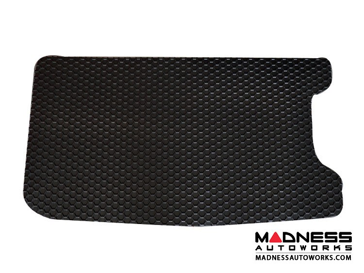 FIAT 500 Cargo Liner - All Weather - Black - w/ Sound System Cutout