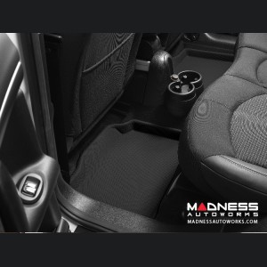 FIAT 500 Floor Liner - Premium - Rear Set