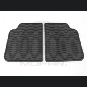 FIAT 500 All Weather Mats - Rear mats