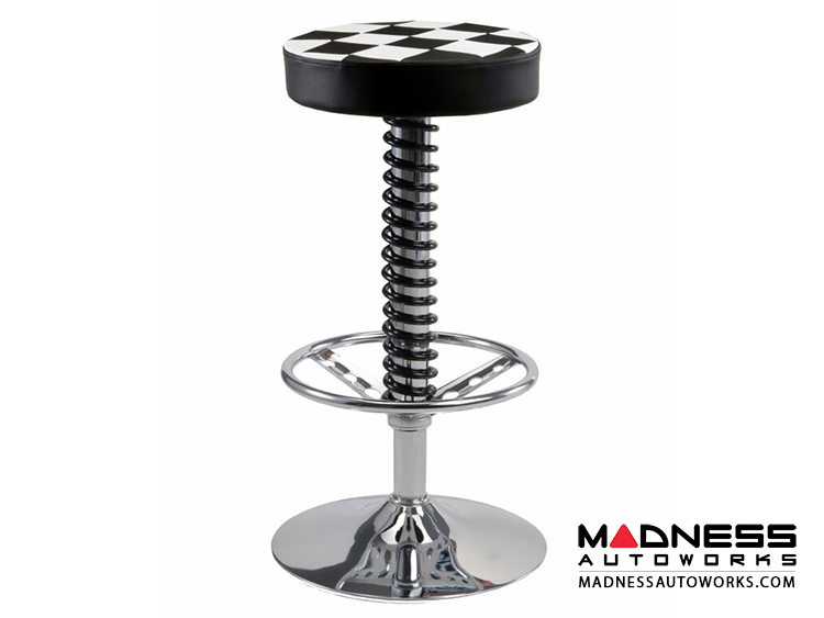 Race Car Style Bar Stool Sebring Carbon Fiber Style  : 4 750x563 from shop.500madness.com size 750 x 563 jpeg 81kB