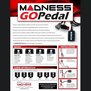 FIAT 500L Throttle Controller - MADNESS GOPedal - 2.4L
