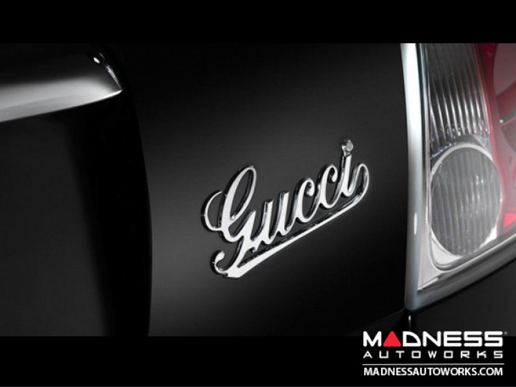 FIAT 500 Emblem Rear Hatch - Gucci