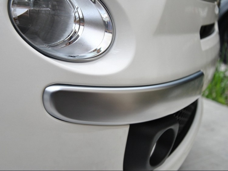 FIAT 500 Front Bumper Trim - Satin Finish - NA Model - left + right