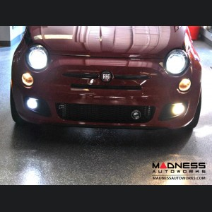 FIAT 500 Fog Light Replacement Bulbs - Pure White