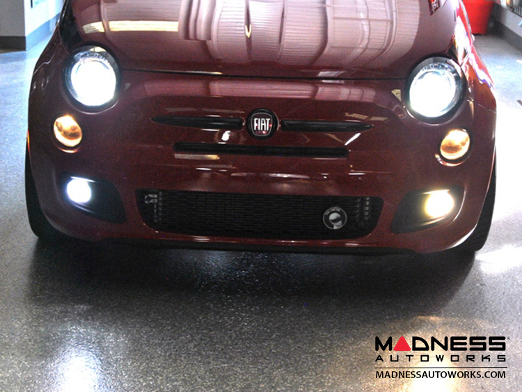 fiat kit blue film hid protection headlight