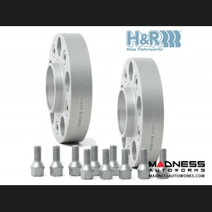 FIAT 500 Wheel Spacers by H&R - Trak+ DRM - 30mm (set of 2)