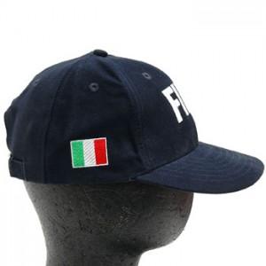 Cap - FIAT - Blue w/ FIAT Logo & Italian Flag