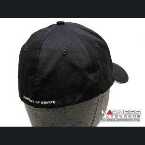 Cap - ABARTH - Black w/ Silver ABARTH Logo