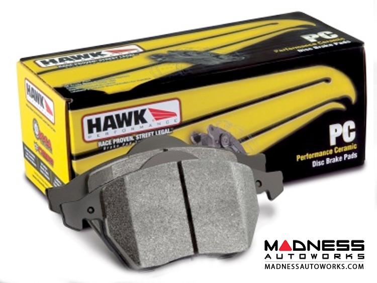 FIAT 500 Brake Pads - Rear - Hawk - Ceramic - All Models