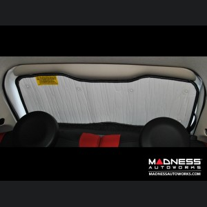 FIAT 500 Sun Shade/ Reflector Set (Cabriolet) - Windshield, Front Side Windows, Rear Side Windows, Rear Windows