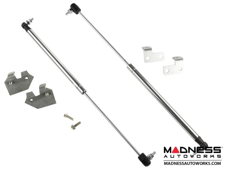 FIAT 500 Hood Lift Kit - Polished