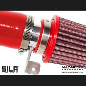 FIAT 500 RAM AIR Intake w/ BMC Filter - 1.4L Multi Air Turbo - Red - pre 2015 models