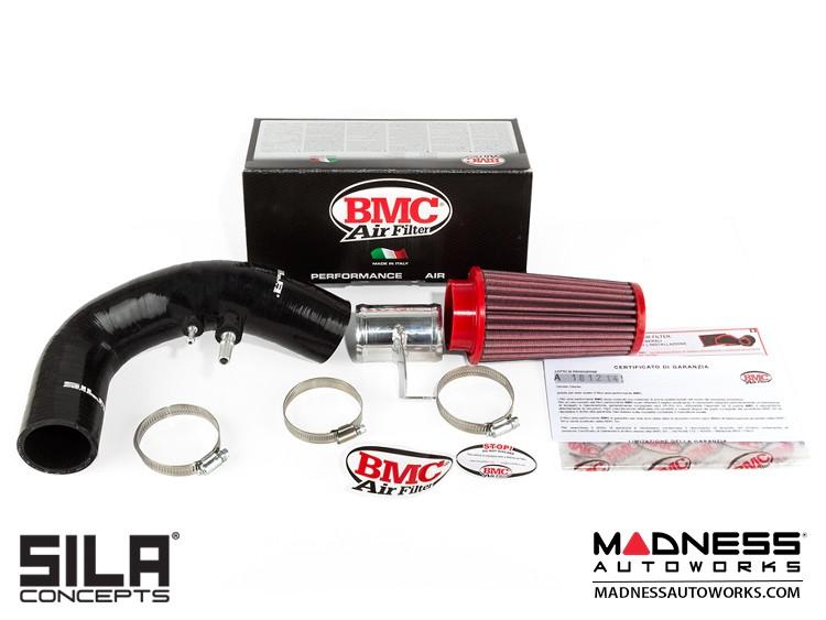 FIAT 500 RAM AIR Intake w/ BMC Filter - 1.4L Multi Air Turbo - Black - pre 2015 models
