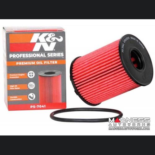FIAT 124 Oil Filter Cartridge - K&N - Pro Series