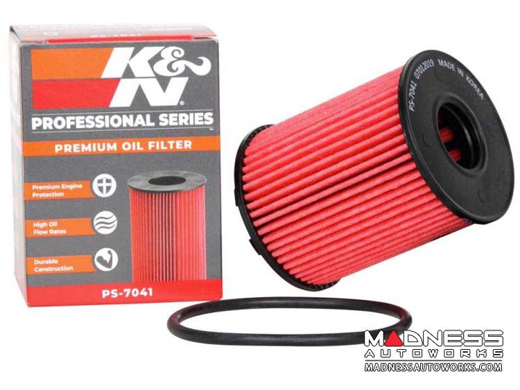 FIAT 500L Oil Filter Cartridge by K&N - 1.4L Multi Air Turbo