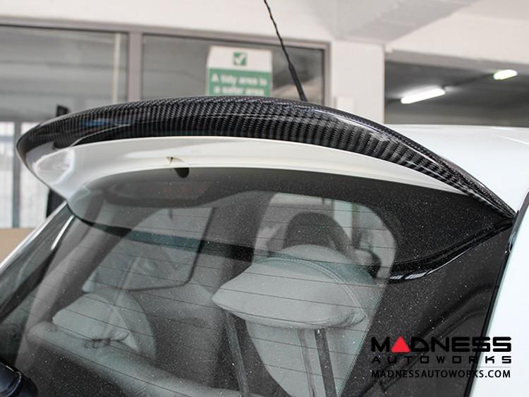 FIAT 500 ABARTH Rear Spoiler Extension - Carbon Fiber