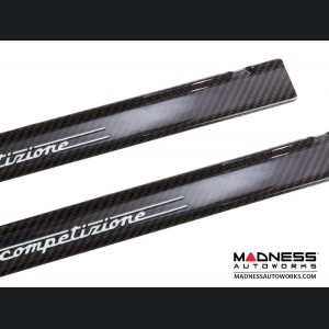FIAT 500 Door Sills - Carbon Fiber - 595 Competizione
