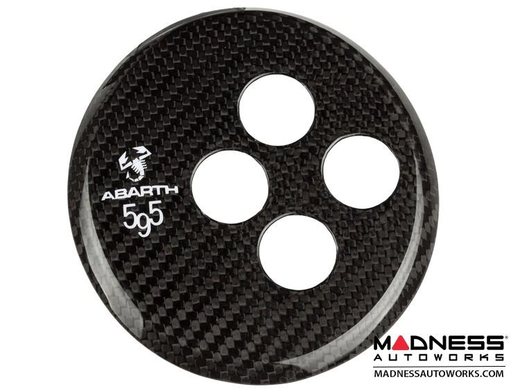 FIAT 500 Gear Panel in Carbon Fiber - ABARTH 595