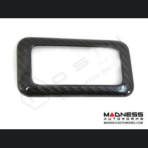 FIAT 500 Internal Light Frame Cover - Carbon Fiber