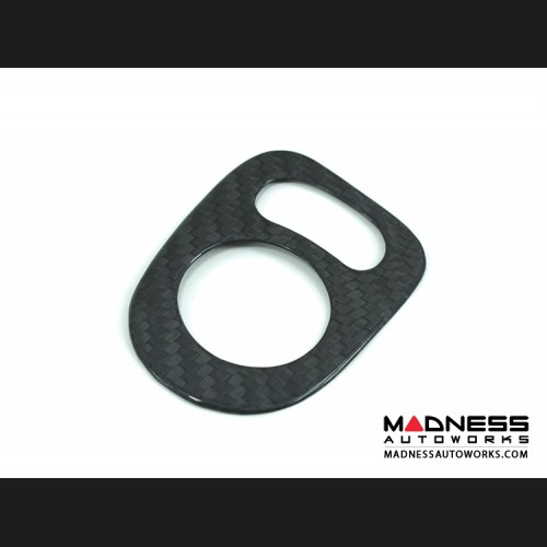 FIAT 500 Mirror Switch Control Cover - Carbon Fiber
