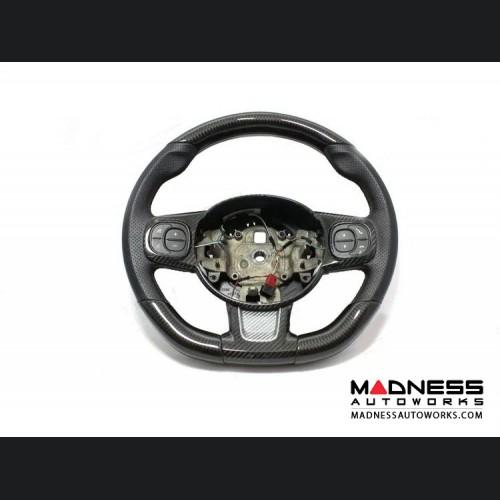 FIAT 500 ABARTH Steering Wheel Trim - Carbon Fiber - 595 Edition