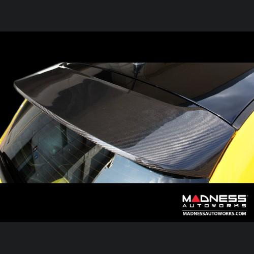 FIAT 500 Rear Roof Spoiler Conversion Kit - Carbon Fiber - ABARTH Model