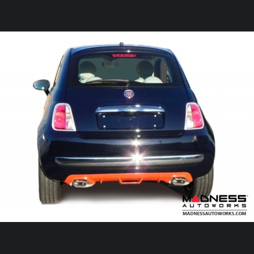 FIAT 500 Diffuser - Add On - FRP - Dual Exit