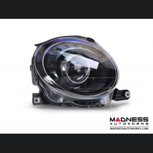 FIAT 500 Headlight Set - Blacked Out Look - set of 2