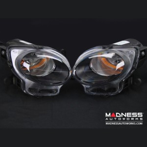 FIAT 500 Driving Light Set - Blacked Out Look - Set of 2 (Non-Turbo and Electric Models)