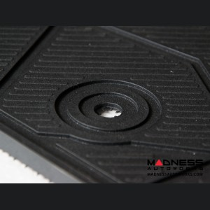 FIAT 124 Floor Mats - All Weather Rubber - LUXUS Premium - Front Set
