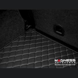 FIAT 500 Cargo Liner w/ out Premium Sound - All Weather - LUXUS - Black w/ Black Stitching