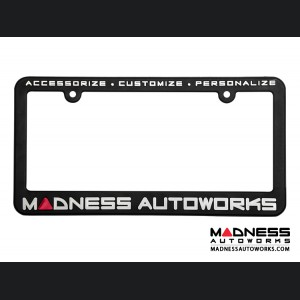 License Plate Frames - MADNESS Autoworks (2)