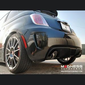 FIAT 500 Performance Exhaust - Magneti Marelli - 1.4L Turbo - Bombardone - Cat Back 3 Piece System - Dual Exit