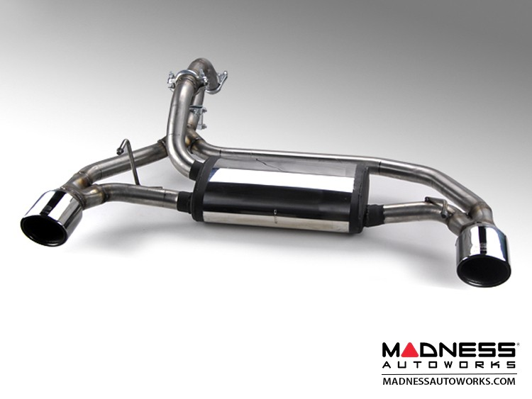 FIAT 500 Performance Exhaust - Magneti Marelli - 1.4L Turbo - Terminale Track Day - Dual Tip