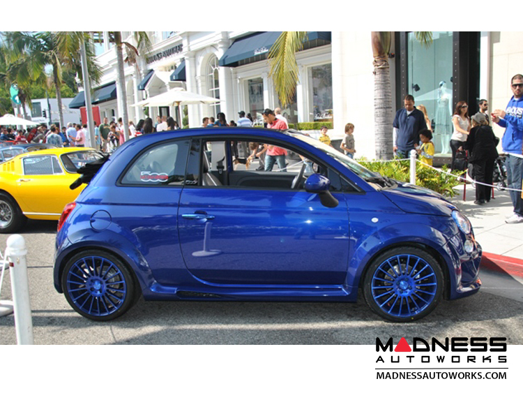 Fiat 500 Lowering Springs By Madness 1 4 Drop