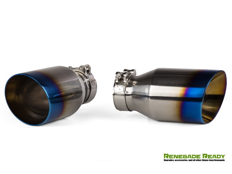 Fiat Blue Flame Tip Exhaust Tip By Madness X