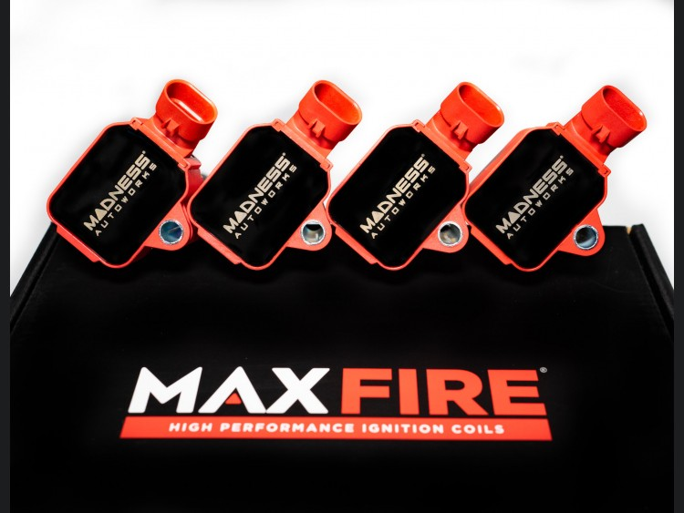 FIAT 500 Ignition Coil Pack Set - MAXFire - High Performance - 1.4L Multi Air Turbo