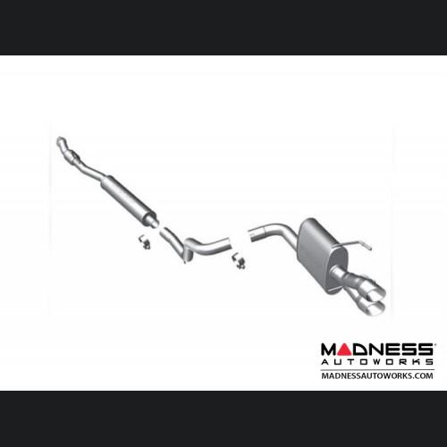 FIAT 500 Performance Exhaust - Magnaflow - 1.4L Non Turbo - Single Exit/ Dual Tip Design