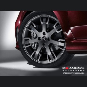 "FIAT 500 ABARTH Tributo Maserati Alloy Wheels w/ ABARTH Crate - 17"" - set of 4"