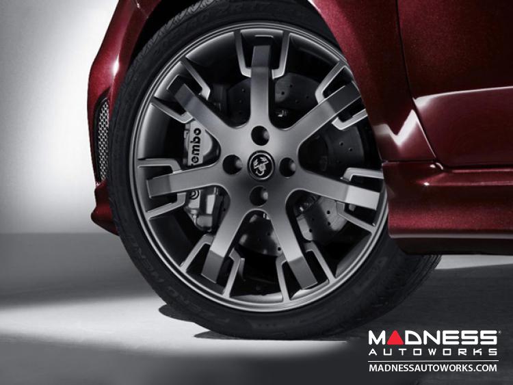 Fiat 500 Abarth Tributo Maserati Alloy Wheel 17 Quot Set Of