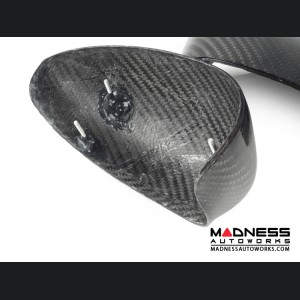 FIAT 500 Mirror Covers - Carbon Fiber - Replacements