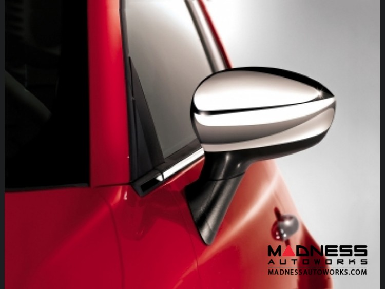 FIAT 500 Mirror Covers - Chrome
