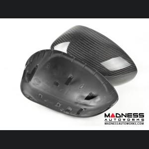 FIAT 500 Mirror Covers - Carbon Fiber - Feroce