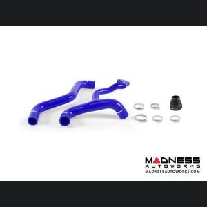 FIAT 500 Silicone Radiator Hose Kit - Mishimoto - Blue - 1.4L Multi Air Turbo Engine