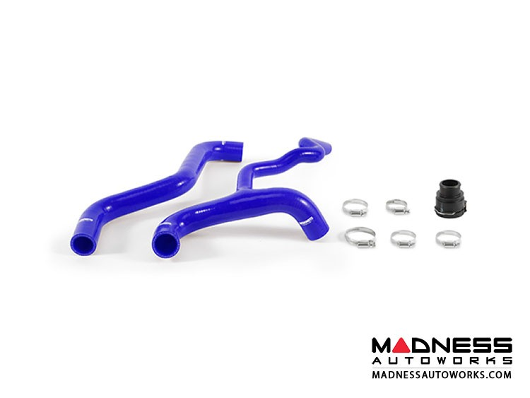 FIAT 500 Silicone Radiator Hose Kit - Mishimoto - Blue - 1.4L Multi Air Turbo